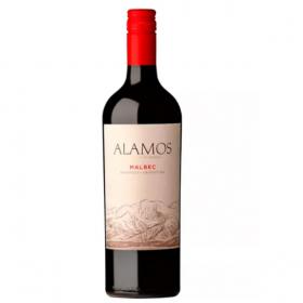 Vino Tinto Alamos Malbec Botella de 750 ml Licoreria247