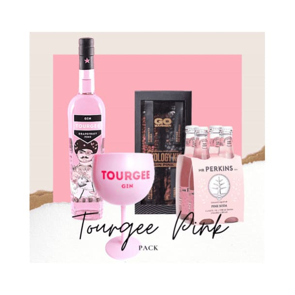 PACK GIN TOURGEE PINK Botella de 750ml