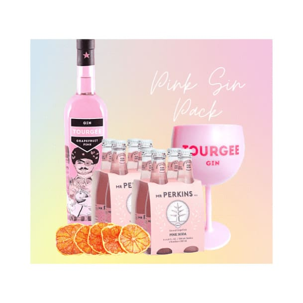 PACK TOURGEE PINK SIN Botella de 750ml
